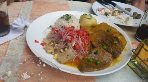 food in bolivia